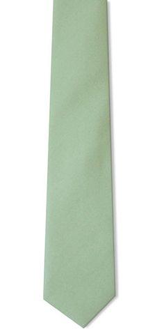 Sage Green Wedding Tie
