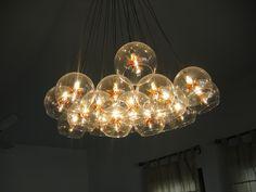 Living room light Living Room Lighting Design, Dining Room Lighting, Apt Ideas, House Ideas, Residential Lighting, Interior Inspiration, Living Spaces, Beautiful Places, Chandelier