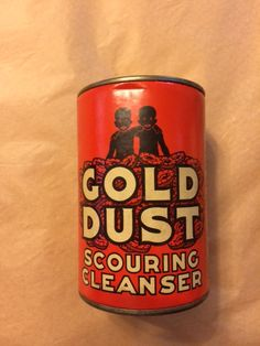 Fairbanks Gold Dust Twins Scouring Cleanser, Unopened by PaintedLadyAntiques on Etsy