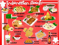 Foodies - Indonesia by panda-penguin.deviantart.com on @deviantART