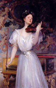 Lady Speyer by John Singer Sargent, 1907 ▓█▓▒░▒▓█▓▒░▒▓█▓▒░▒▓█▓ Gᴀʙʏ﹣Fᴇ́ᴇʀɪᴇ ﹕ Bɪᴊᴏᴜx ᴀ̀ ᴛʜᴇ̀ᴍᴇs ☞  http://www.alittlemarket.com/boutique/gaby_feerie-132444.html ▓█▓▒░▒▓█▓▒░▒▓█▓▒░▒▓█▓