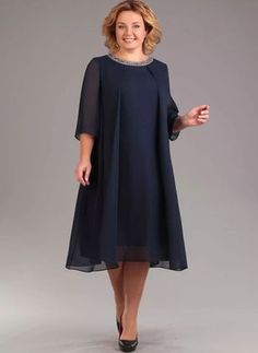 Stunning Dresses Plus size solid sleeves midi A-line dress, elegant, styles, women& style. you can find similar pins below. We have brought t. Dress Plus Size, Elegant Dresses, Plus Size Dresses, Dresses For Work, Stunning Dresses, Tee Dress, Belted Dress, Vestido Casual, Two Piece Dress