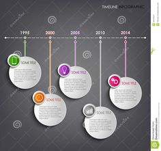 Illustration about Time line info graphic round template background vector eps Illustration of promotion, presentation, layout - 42419372 Infographic Template Powerpoint, Timeline Infographic, School Projects, Projects For Kids, Timeline Project, History Classroom, History Timeline, School Notes, Book Journal