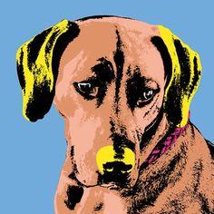 Pet portrait of your beloved dog.