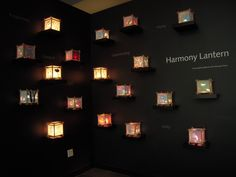 Paper lantern display at Bellevue Art Museum gift shop in Washington. Paper Lanterns, Art Museum, Washington, Wall Lights, Display, Shop, Gifts, Home Decor, Floor Space