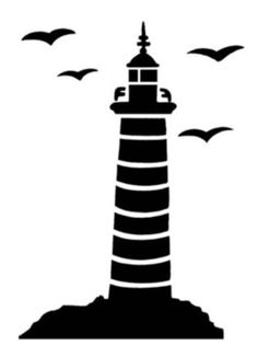 lighthouse silhouette vector fonts pinterest lighthouse rh pinterest com lighthouse vector file lighthouse vector charts