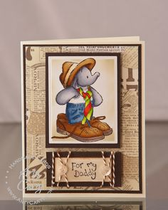 Crafter's Companion Humphrey for Dad by Stephanie Lee
