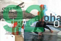 David Carson | deisigned/art directed august 2012 issue of SURFportugal. | http://www.davidcarsondesign.com/