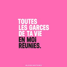 #LESCARTONS : Photo Quote Citation, French Quotes, Words Quotes, Tumblr, Lol, Messages, Motivation, Typo, Badass