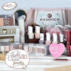 """our new trend edition ""happy girls are pretty"" underlines everyone's natural beauty :-) Essence Makeup, Essence Cosmetics, Beauty Essence, Justice Makeup, Make Me Up, How To Make, Beauty Hacks, Beauty Ideas, Beauty Tips"