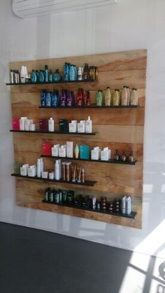 The Lobby Hairshop product display
