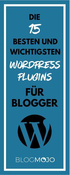 In diesem Artikel stelle ich dir die besten WordPress-Plugins für deinen Blog vor, z. B. zur Ladezeit-Optimierung, Backups und zur Spambekämpfung.