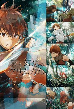 The official website for Grimgar of Fantasy and Ash (Hai to Gensou no Grimgar) light novel series is getting a television anime adaptation that will ...