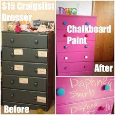 Dresser Makeover - Before & After