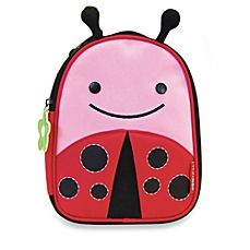 image of SKIP*HOP® Zoo Lunchies Insulated Lunch Bag in Ladybug