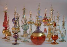 Frascos de perfume decorativos