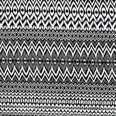 """X O Arrow Small Ethnic Cotton Spandex Blend Knit Fabric - A smaller scale ethnic inspired design with repeating rows of x, o shapes, and arrow and diamond chains in black on a natural white  color background cotton spandex rayon blend knit.  Fabric has a soft hand, 4 way stretch, a nice drape, and is light weight.  Zig zag measure 1 3/4"""" (see image for scale).  A versatile fabric great for many different applications!  ::  $6.25"""