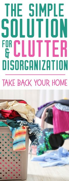 Do you need organization ideas and clutter solutions? I KNOW what it's like to live in a cluttery mess - this can help!