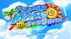 Sky & Sea - Super Mario Sunshine
