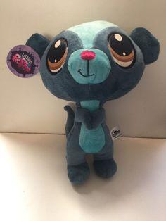Littlest Pet Shop 10 Inch Plush LPS Stuffed Animal Toy 3+ Sunil the Mongoose #LittlestPetShop