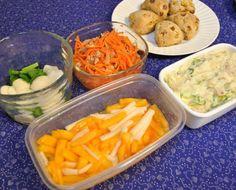 常備菜 : ポテトサラダ、柿と大根のサラダ、蕪の浅漬け、人参のサラダ、スコーン