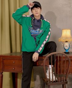 EXO x MLB Photoshoot Sehun