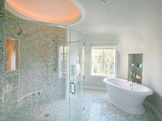 Spa-Inspired Master Bathrooms | Bathroom Design - Choose Floor Plan & Bath Remodeling Materials | HGTV