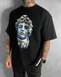 This is one of JK ATTIRE'S Best Selling Products. It Has Been Restocked 3X And In Crazy Demand! Dope Shirt, T Shirt, Cool Shirt Designs, Mens Fashion Wear, Future Clothes, Clothing Logo, Streetwear Fashion, Casual Outfits, Menswear