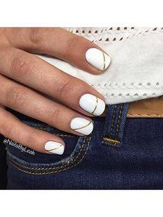 25 Chic Nail-Art Ideas for Summer: Nail Ideas: allure.com