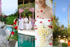 baliweddingplanners.com The Balinese wedding ceremony package starts around 2600. We might go for this option if we find a place we like more than the Sukhavati estate.