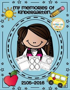 My Memories of kindergarten My Memories of Kindergarten End of Year booklet allows children to easy look back on the school year and write about those memories.  It was created especially for Kindergarten, but it can probably be adapted to first grade.