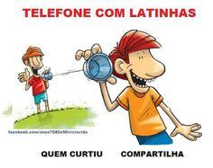 ANOS  70  80  e  90: TELEFONE DE LATA