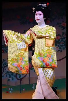 Geiko Toshihana, Miyagawacho Kyo-Odori (by maiko.gallery)