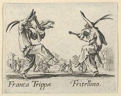 Franca Trippa - Fritellino, from the Balli di Sfessania