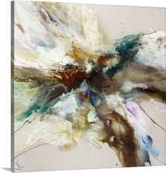 Jonas Gerard Premium Thick-Wrap Canvas Wall Art Print entitled Spirit Rising Viii, None