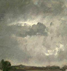 Sidney H. Sime (British, 1867-1941), Dark Sky. Oil on canvas. Sidney H. Sime Memorial Gallery, Worplesdon, Surrey.