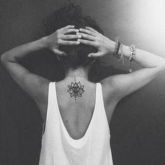 blossom lotus flower tattoo