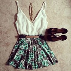 .robe+ chaussures