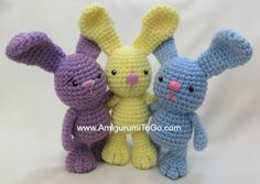 "Little Bigfoot Bunny,   Here is an older pattern of mine that is part of a series I designed in 2012 called the ""Little Bigfoots..."
