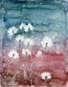 水彩画来自糖糖爱吃甜的的图片分享-堆糖;