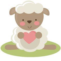Cute Clipart ❤ Cute Lamb SVG file for scrapbooking lamb svg cut file free svgs free svg files free svg cut files