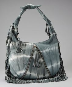 Take a look at this Gray Ashley Leather Hobo by Vintage Reign on #zulily today!