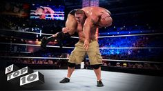 John Cena's Strongest Moves: WWE Top 10