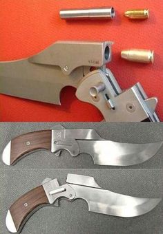 Some knives you CAN take to a gun fight.