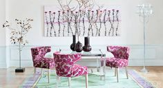 Jeanine Lobell and Anthony Edwards Manhattan apartment in Elle Decor...