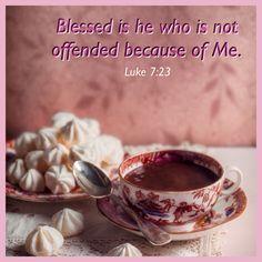 Luke 7:23