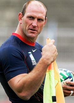 """Big Man: Lorenzo Bruno Nero """"Lawrence"""" Dallaglio, OBE is a retired English rugby union player and former captain of the English national team."""