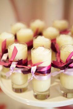 coconut vanilla pudding shots.....