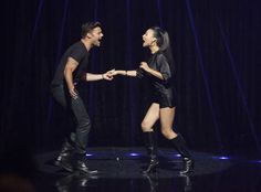 "Santana and Ricky Martin's David Martinez Sing ""La Isla Bonita"" in Glee Season 3, Episode 12: ""The Spanish Teacher"""