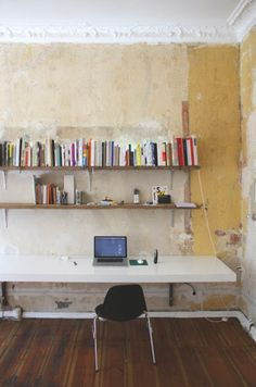 Extremely rustic office